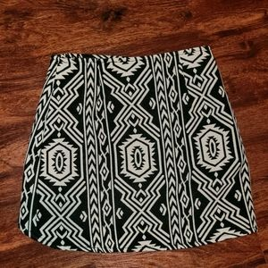 BUNDLE&SAVE! MinkPink Tribal Zipper Skirt
